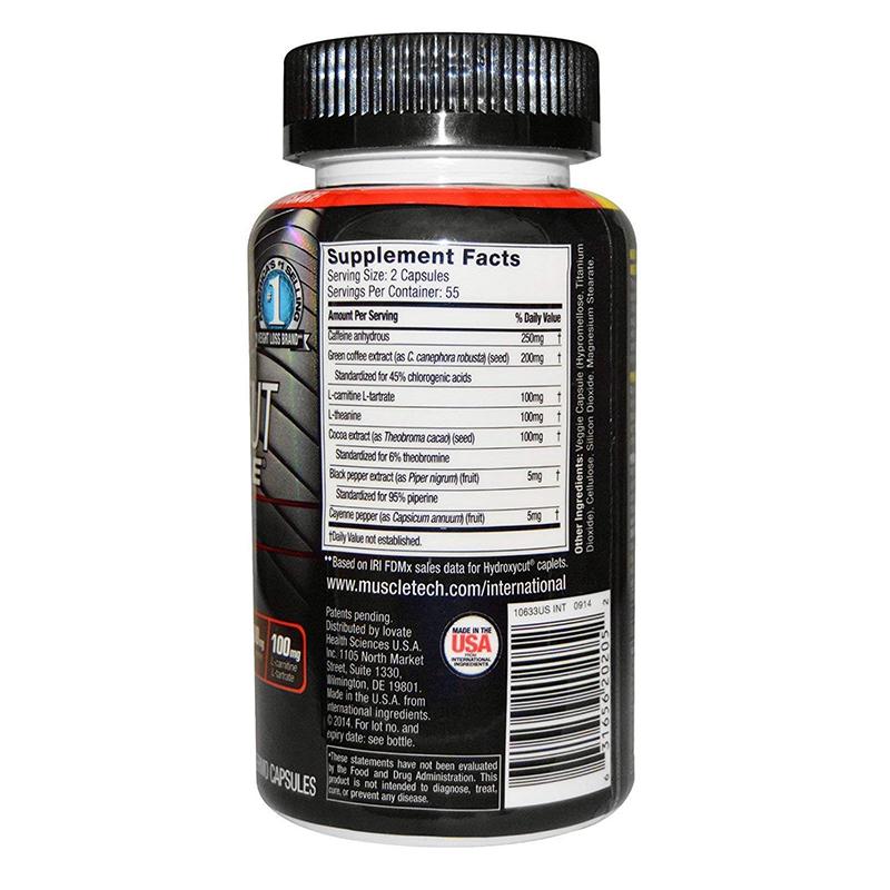 Muscletech Hydroxycut Elite 110 Caps