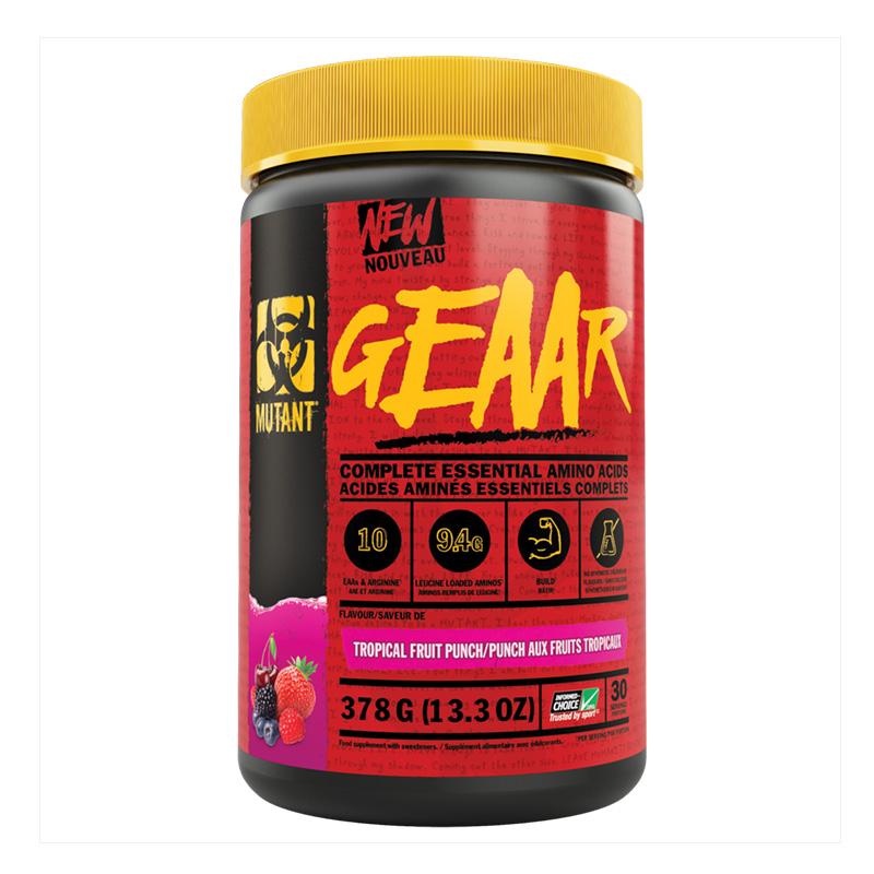 Mutant Geaar Amino Acids Fruit Punch 378g