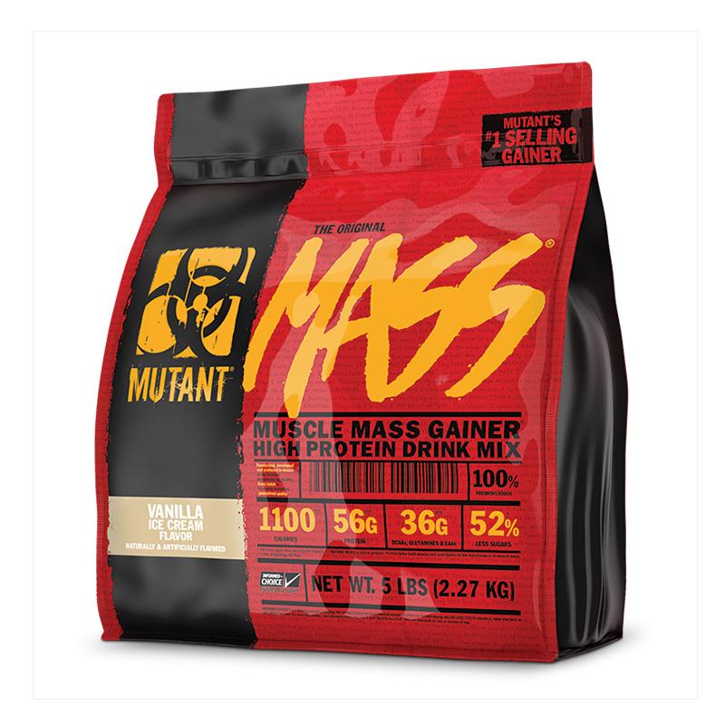 Mutant Muscle Mass Gainer 5lbs Vanilla Ice Cream