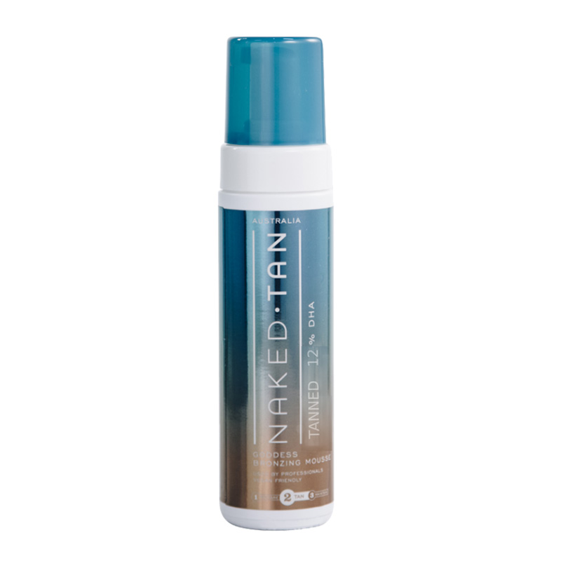 Naked Tan Tanned Bronzing Mousse 180ml