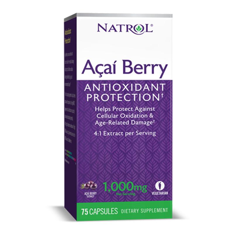 Natrol Acai Berry 1000 Mg Bn 60+15 V- Caps