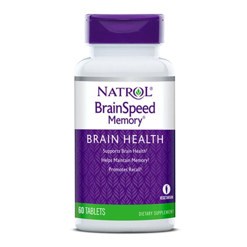 Natrol Brain Speed Memory 60 Tabs