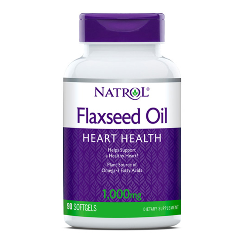 Natrol Flax Seed Oil 1000 Mg 200 S Gel