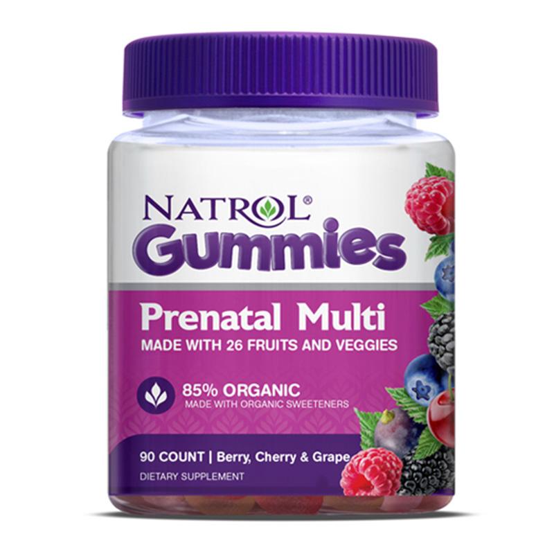 Natrol Gummies - Prenatal Multi Gummy 90 Ct
