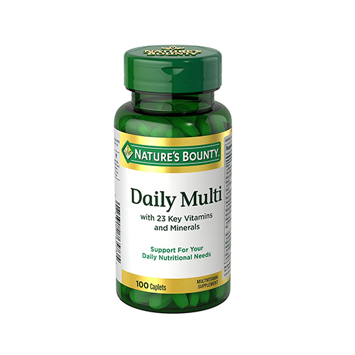 Natures Bounty Daily Multivitamin (100 Tabs)