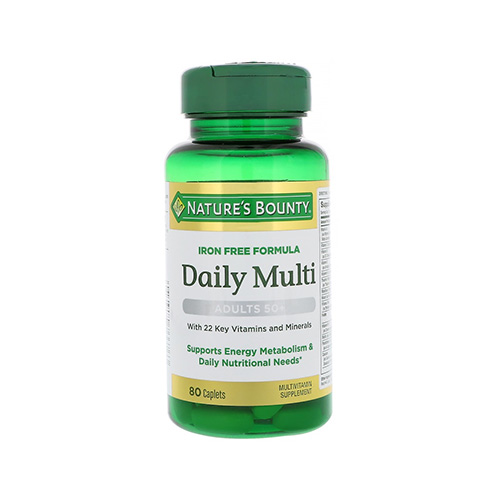 Natures Bounty Daily Multivitamin Senior (80 Tabs)