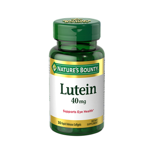Buy Natures Bounty Lutein 40mg 30tabs In Dubai Abu