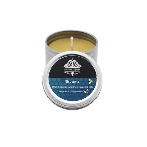 Nirvana Travel Tin Aroma Beeswax Candles Distrubutor in Dubai