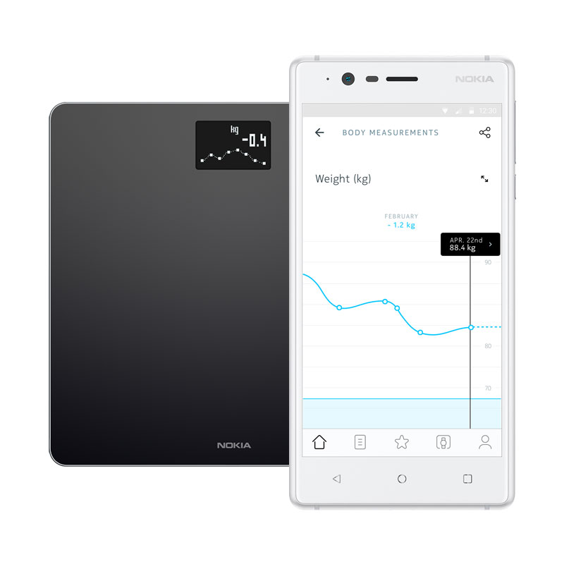 Buy Nokia Body Weight And Bmi Wi Fi Smart Scale Withings