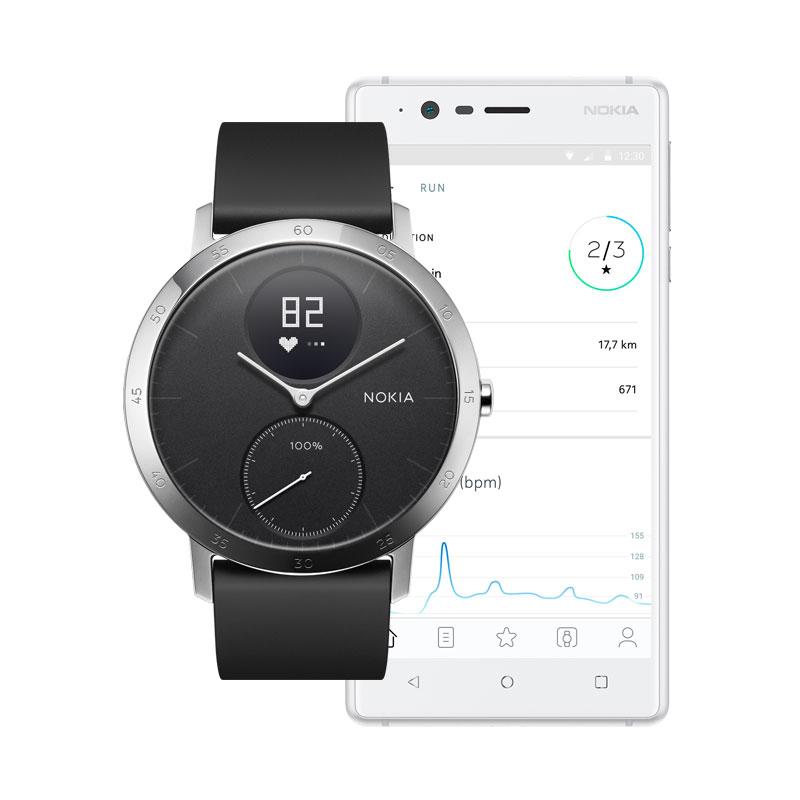 Nokia Steel HR 40mm Black (Activity Tracking Watch)