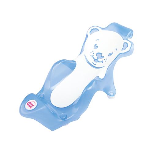 OkBaby Buddy Blue Bath Seat with Slip-Free Rubber - 038794-84