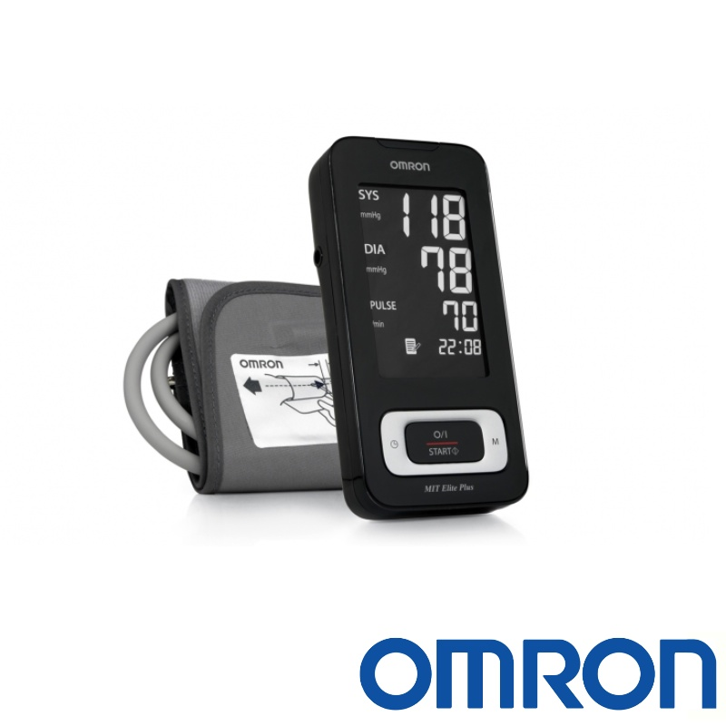 Omron MIT Elite Plus Upper Arm Blood Pressure Monitor HEM-7301-ITKE