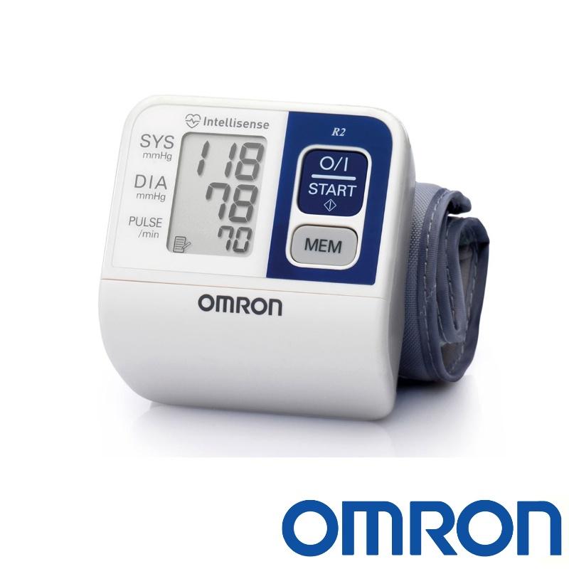 -Omron R2 Wrist Blood Pressure Monitor HEM-6113-E