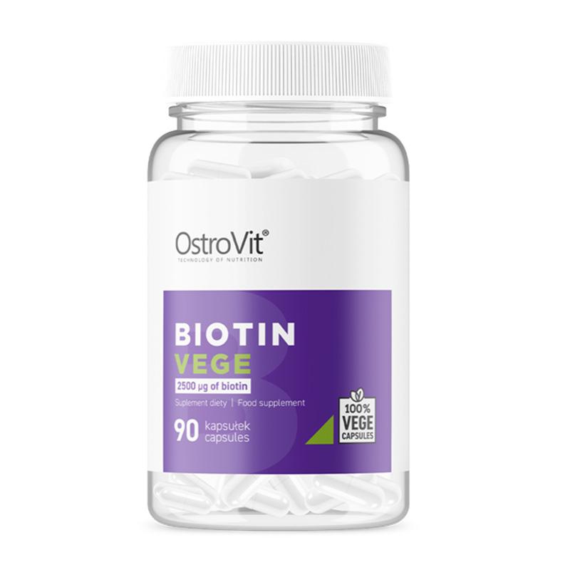 OstroVit Biotin VEGE 90 Caps