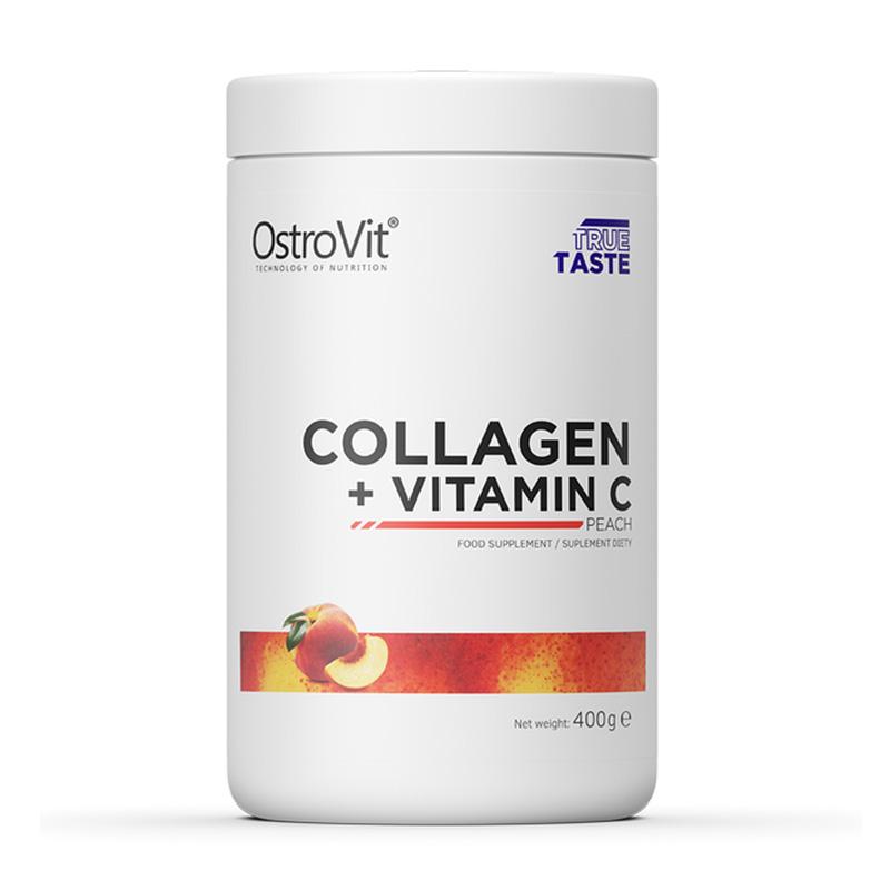 OstroVit Collagen + Vitamin C Peach 400 g