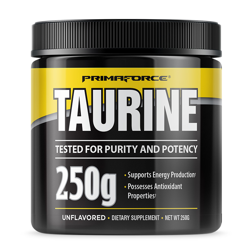 Primaforce Taurine 250 Grams Unflavoured
