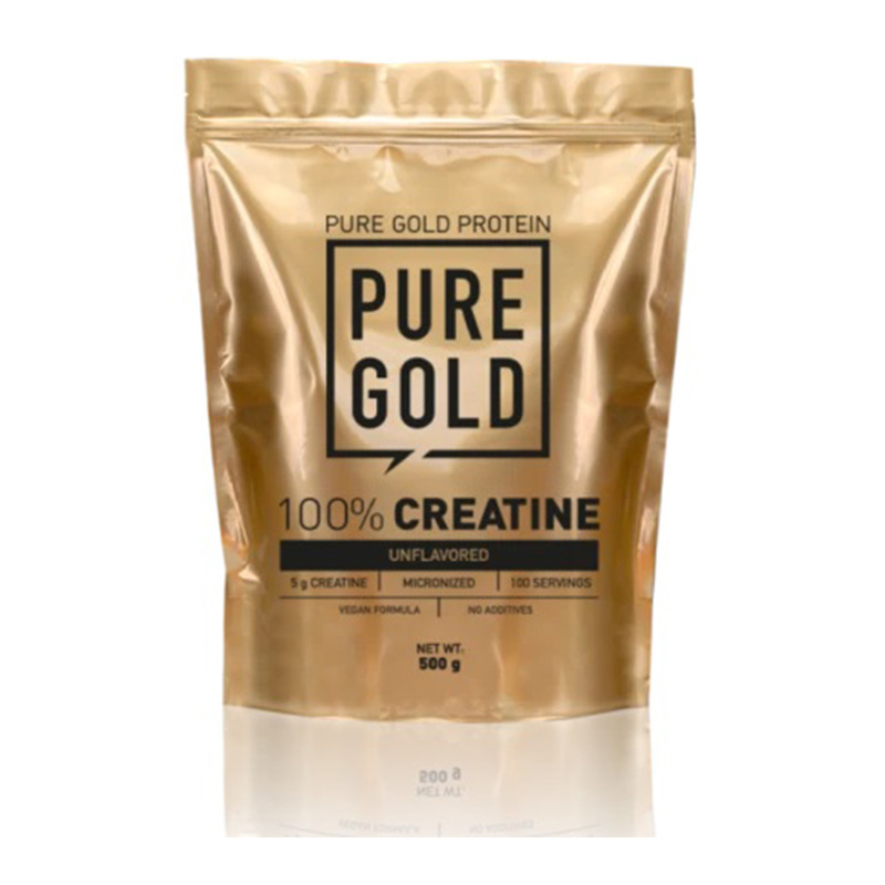Pure Gold 100% Creatine 300 gm Unflavored