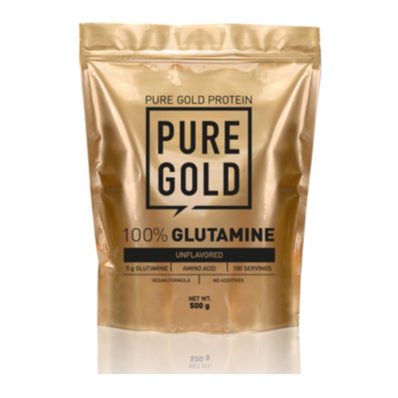 Pure Gold 100% L - Glutamine 500 gm Unflavored