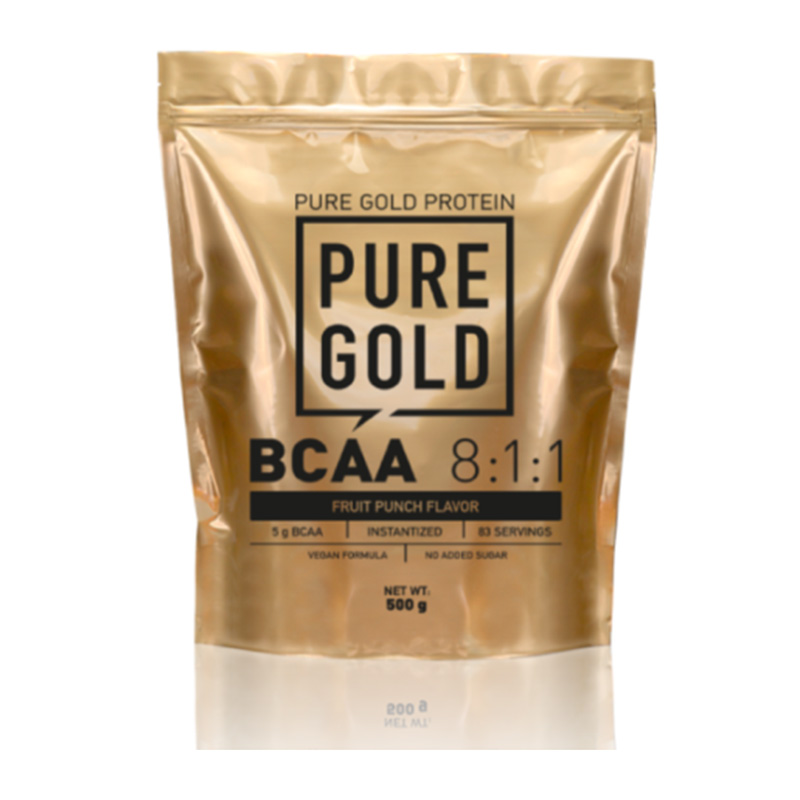 Pure Gold BCAA 8:1:1 500 gm Fruit Punch
