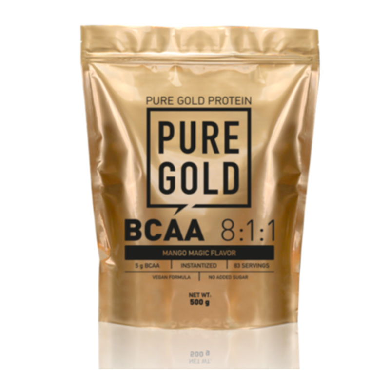 Pure Gold BCAA 8:1:1 500 gm Mango Magic