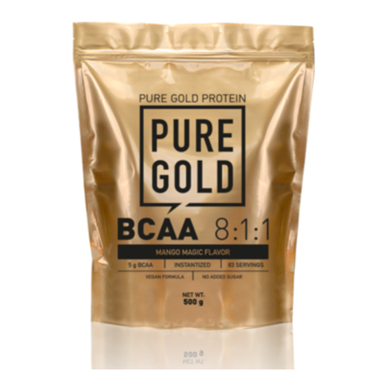 Pure Gold BCAA 8:1:1 500 gm Unflavored