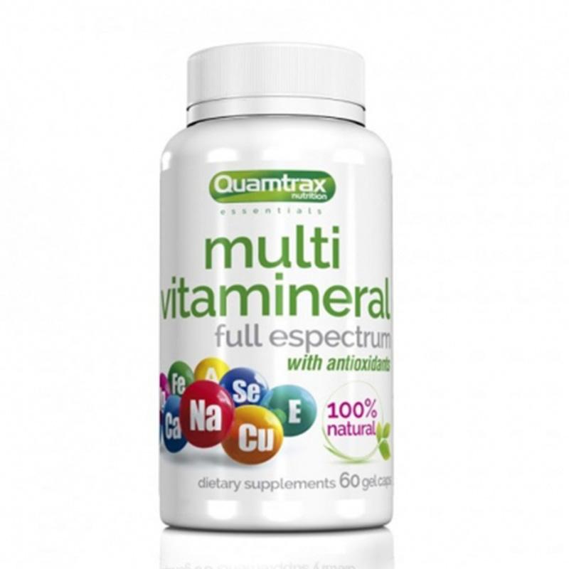 Quamtrax Multi Vitamineral 60 Caps