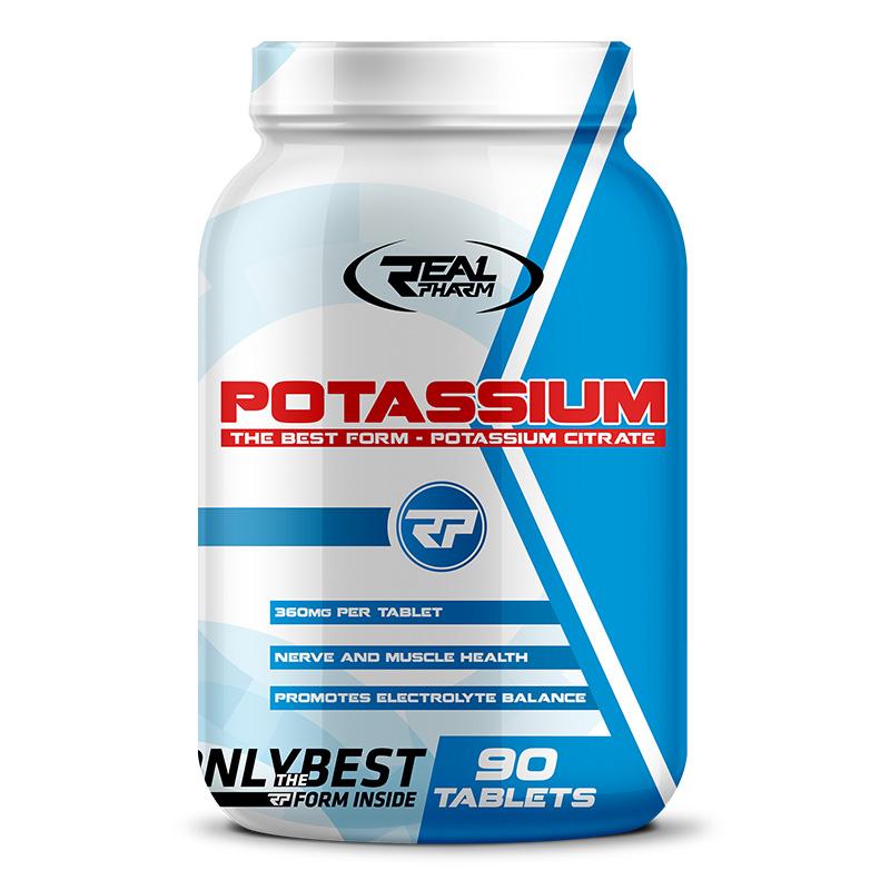 REAL Pharm Nutrition Potassium 90 Tabs