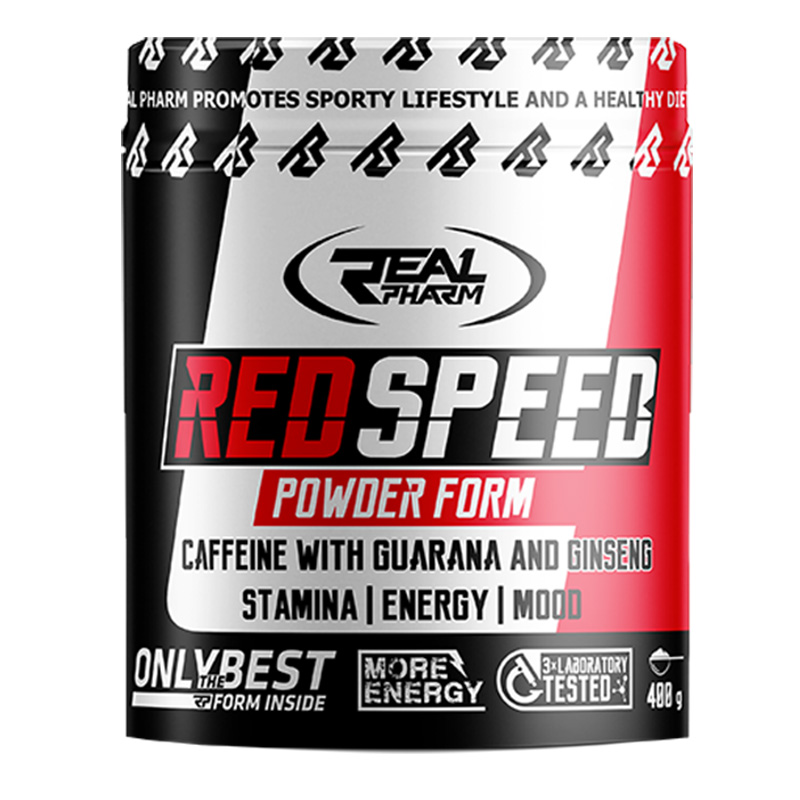 REAL Pharm Nutrition Red Speed (Pre Workout) 400 gm
