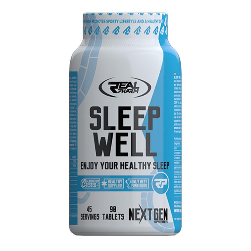 REAL Pharm Nutrition Sleep Well (Sleep Aid) 90 Tabs