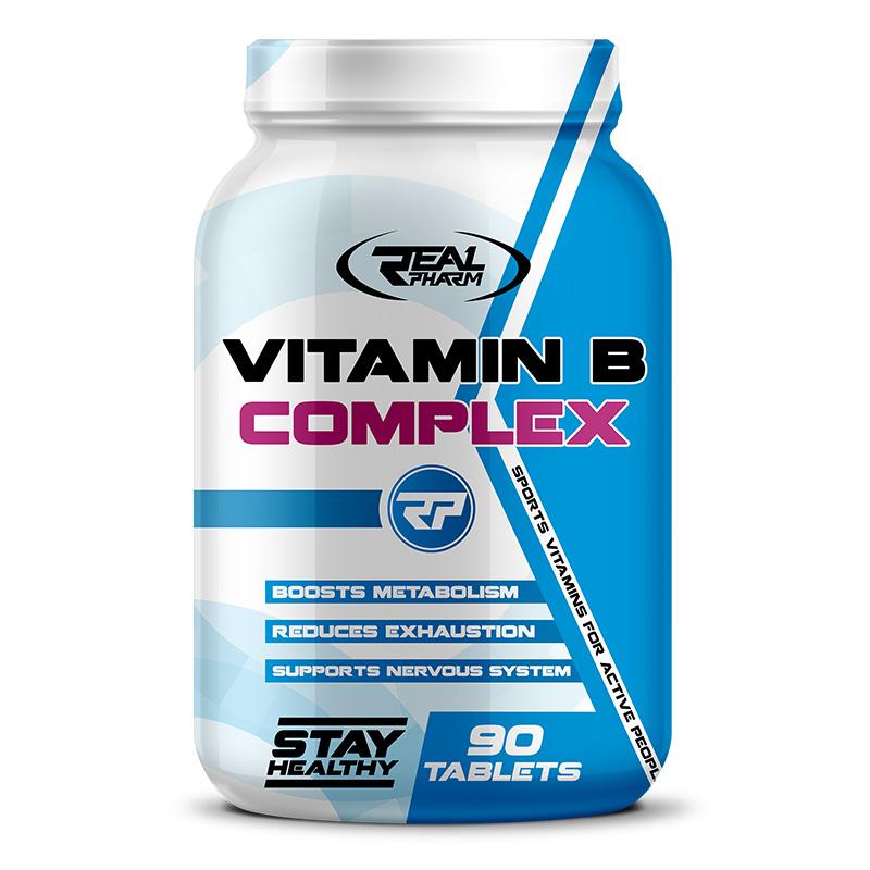 REAL Pharm Nutrition Vitamin B Complex 90 Tabs
