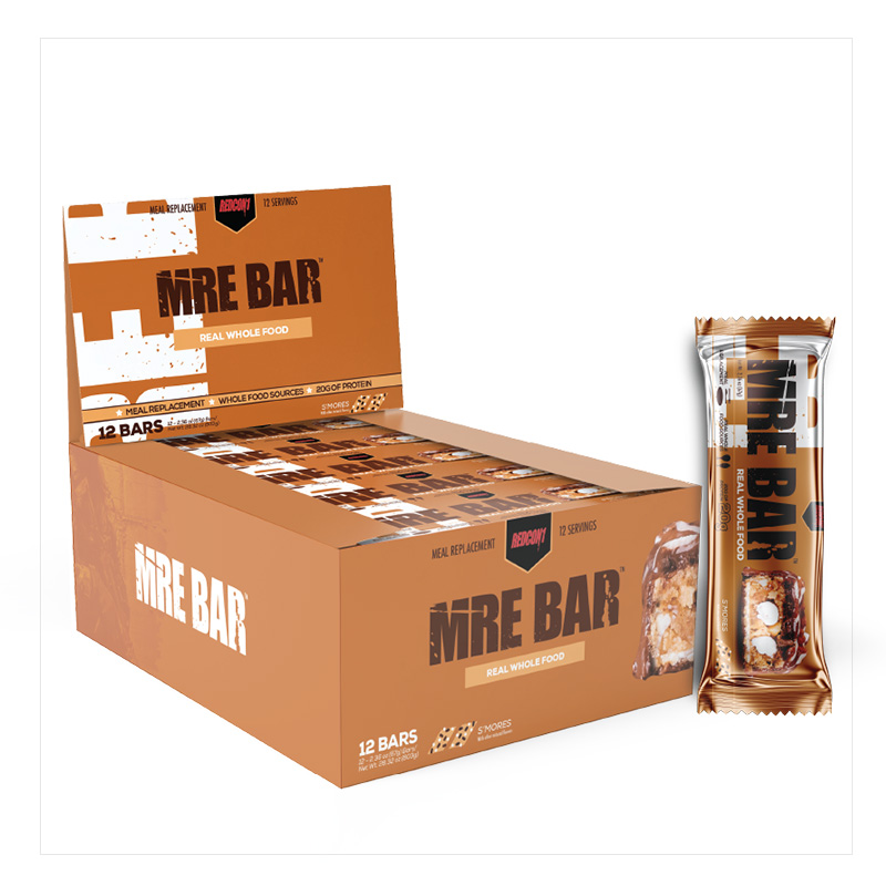 Redcon1 MRE Bar SMores 12 Servings