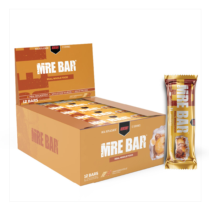 Redcon1 MRE Bar Snickerdoodle 12 Servings