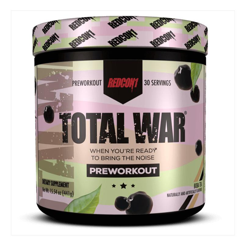 Redcon1 Total War Boba Tea 30 Servings