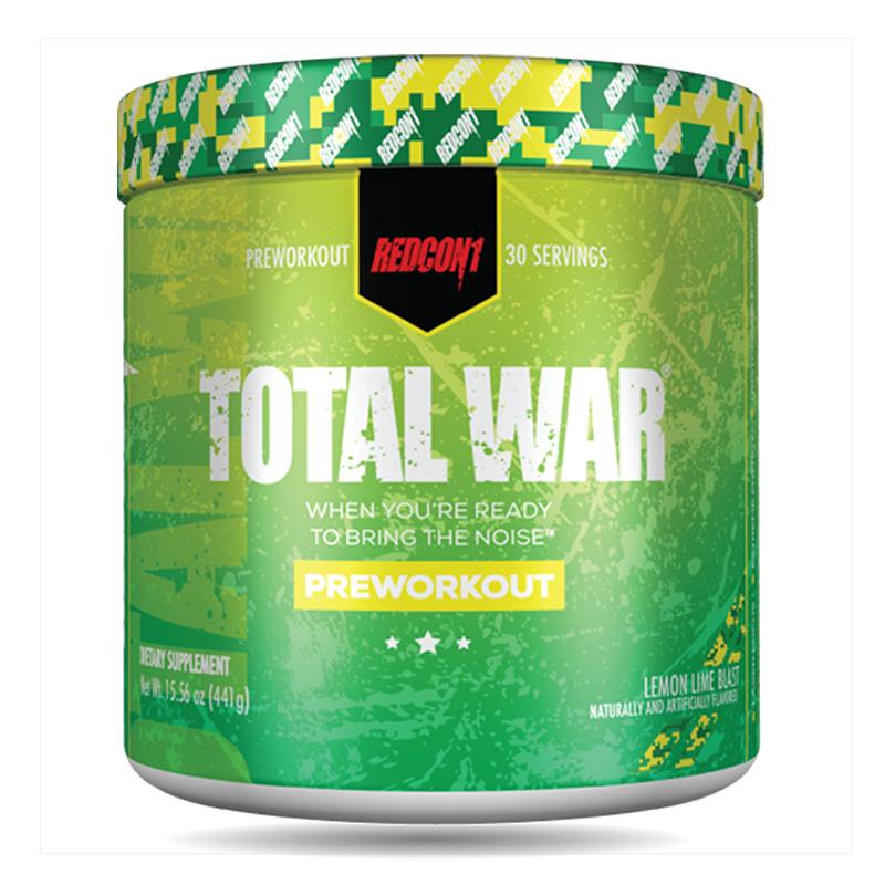 Redcon1 Total War Lemon Lime Blast 30 Servings