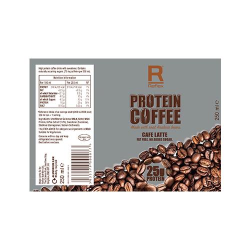Buy Reflex Protein Coffee 25g 24x250 Ml Cafe Latte In