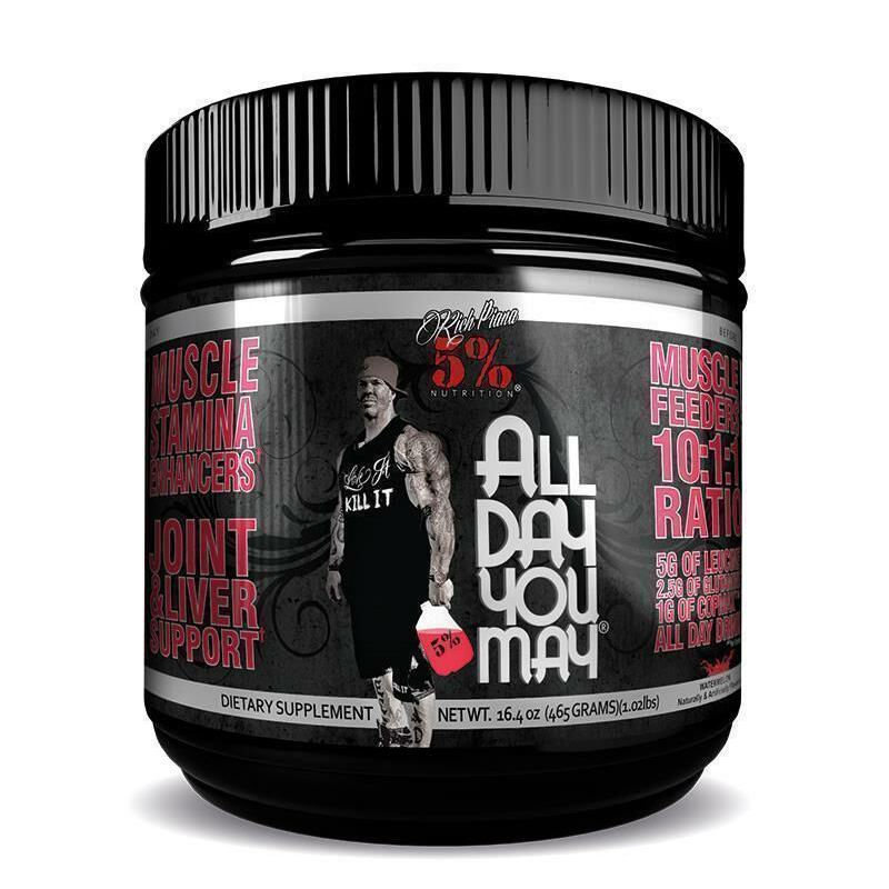 Rich Piana 5% All Day Join Support Lemon Lime 450gm