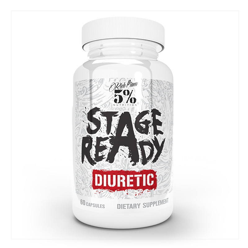 Rich Piana 5% Stage Ready 60 Caps Diuretic