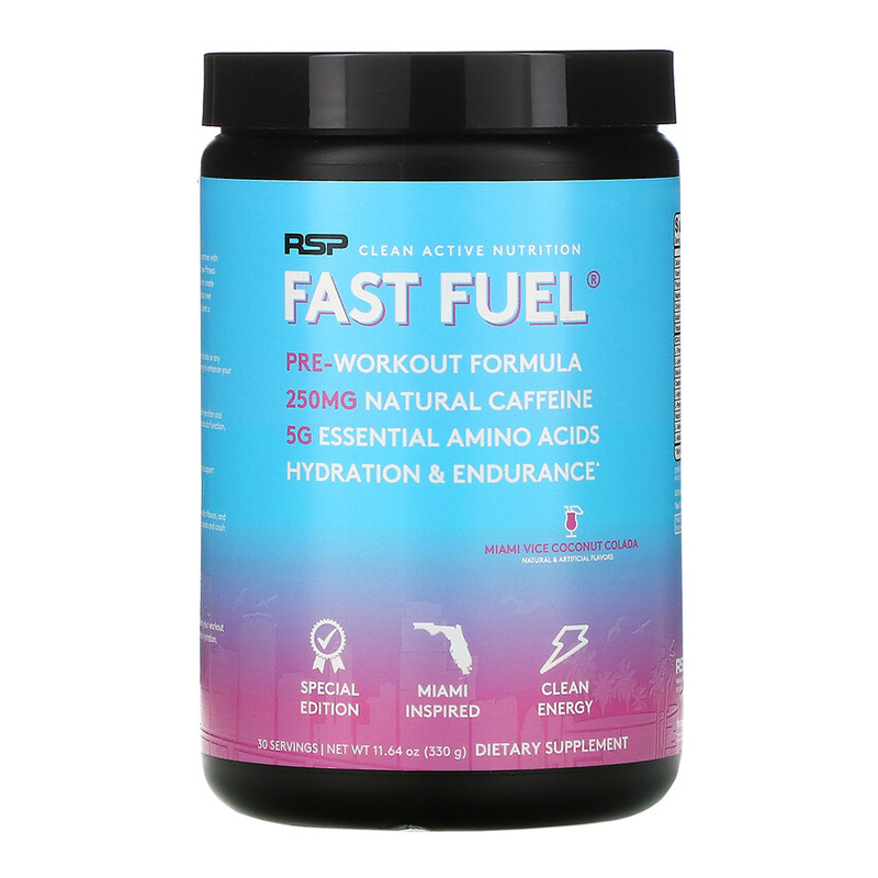 RSP Fast Fuel Pre Workout Miami Edition 330 g