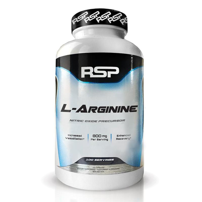 RSP L Arginine 800 mg 100 Caps