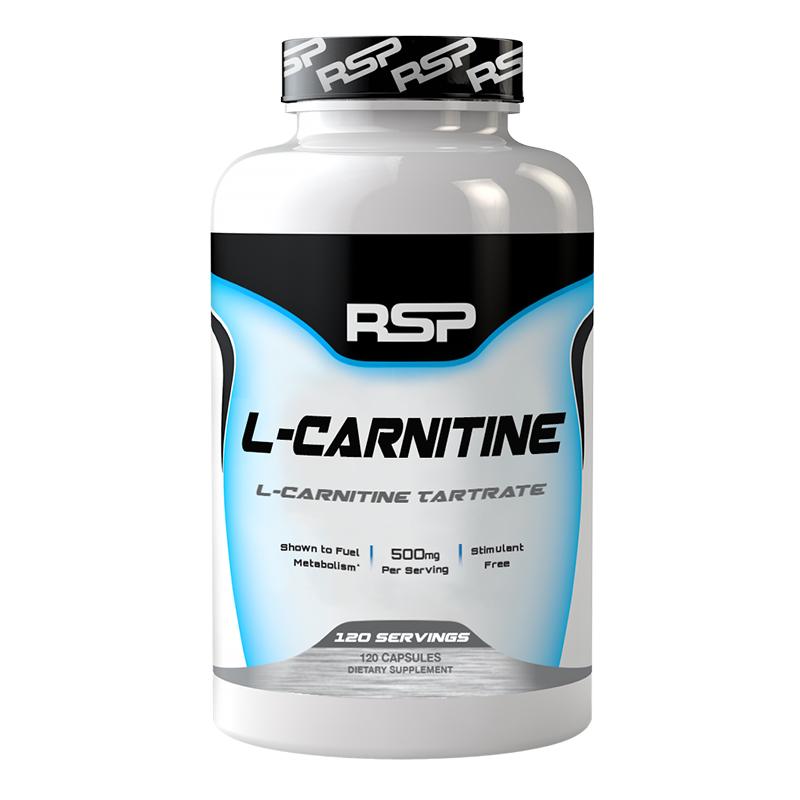 RSP L Carnitine 120 Caps
