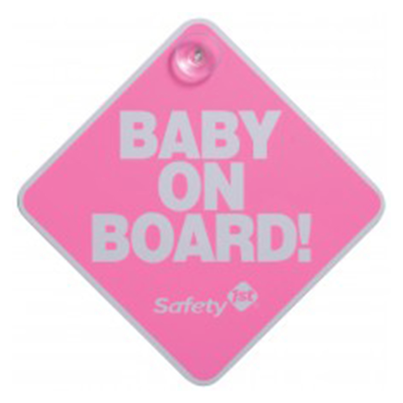 Safety 1st Baby on Board Pink/bBlue (X1) FR