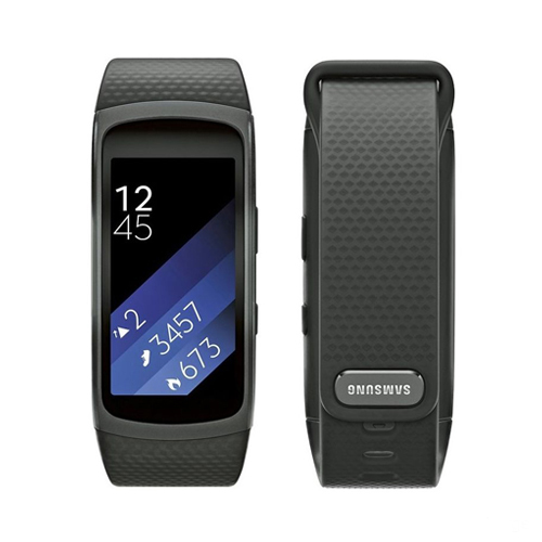 Samsung Gear Fit2 Black Large SM-R3600 Price in Dubai