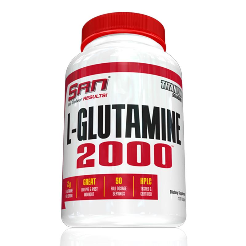 SAN Nutrition L Glutamine 2000 100 Caps