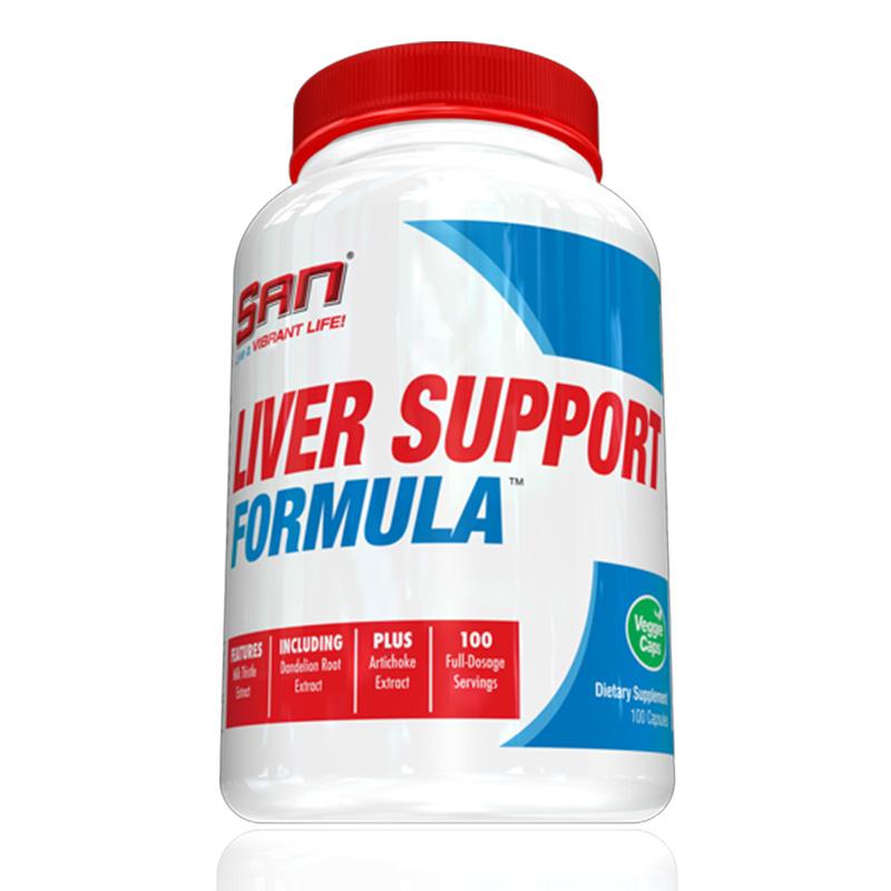 SAN Nutrition Liver Support Formula 100 Caps