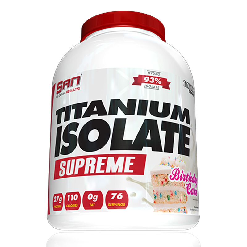 SAN Nutrition Titanium Isolate 5 LB