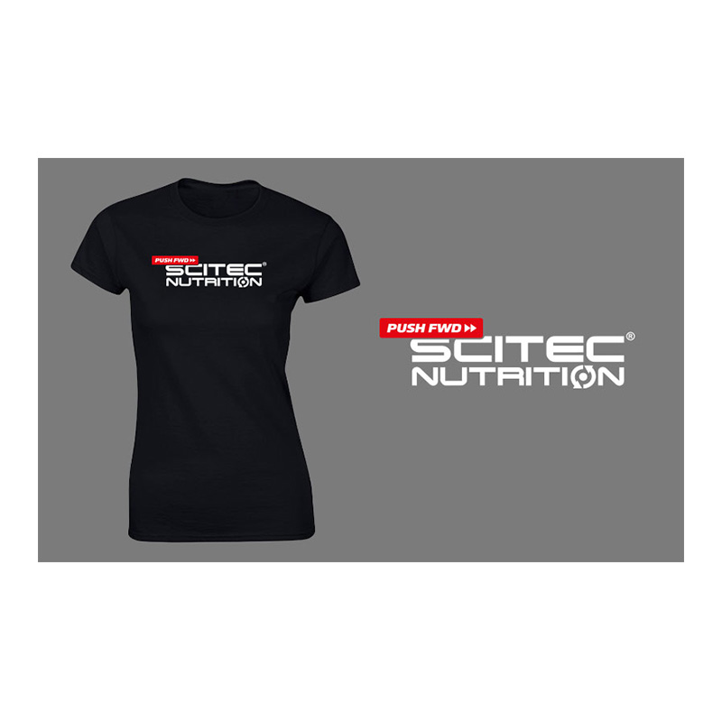 Scitec Nutrition Pushfwd T-shirt (Black)