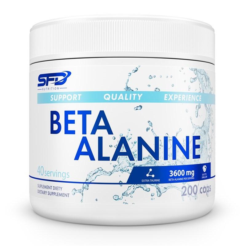 SFD Nutrition Beta Alanine 200 Caps