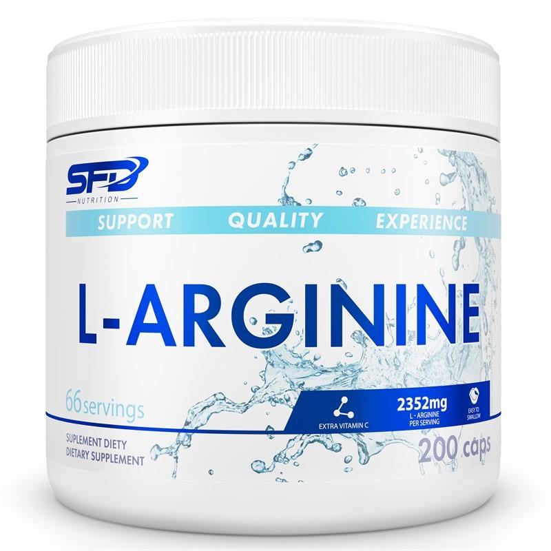 SFD Nutrition L-Arginine 200 Caps