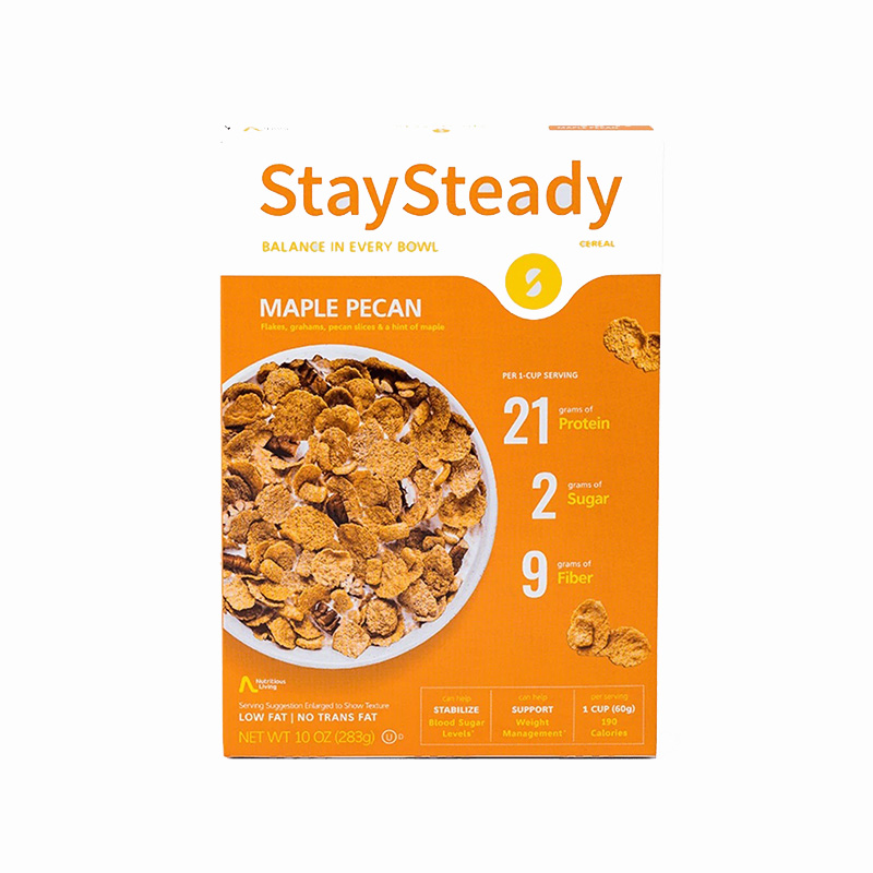 Stay Steady Cereal Maple Pecan 1x6