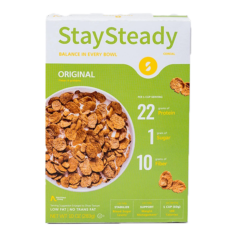 Stay Steady Cereal The Original 1x6